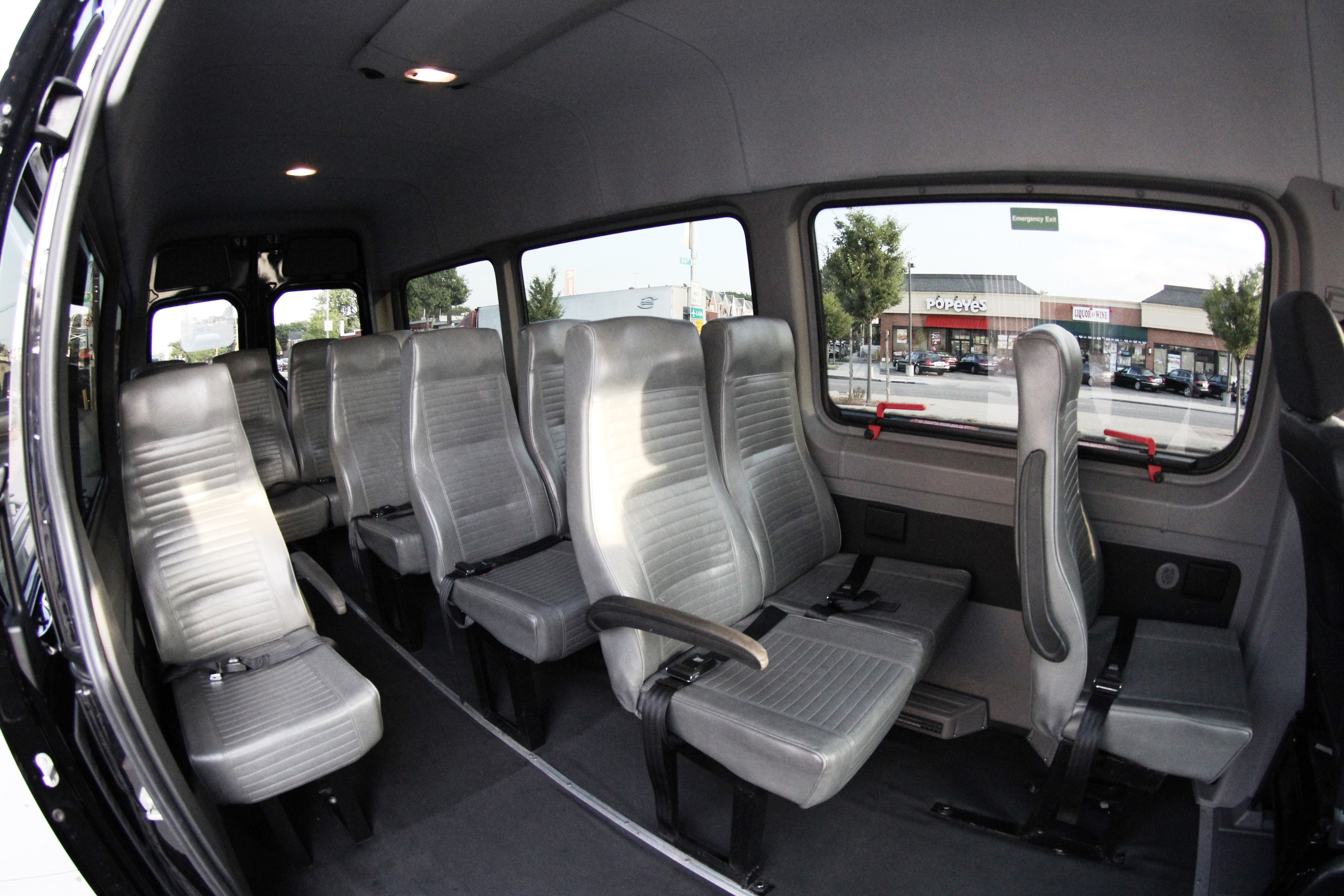 Sprinter Rental Nyc >> Rent a Sprinter Van, Van Rental NYC15 Passenger Mercedes ...